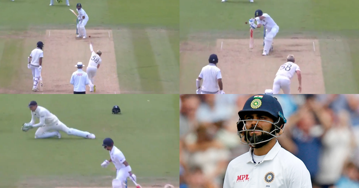 Watch: Virat Kohli Dismissed On 20 By Sam Curran Leaving India in Deep Waters At Lord's