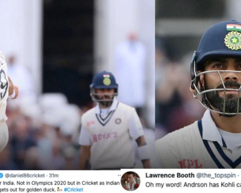 Twitter Reacts As James Anderson Dismisses Virat Kohli For A Golden Duck