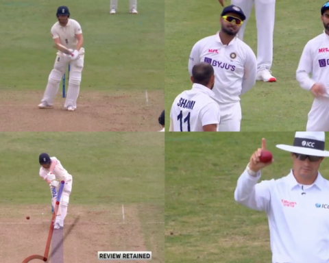 Watch: Virat Kohli Nails Another DRS Call As Mohammed Shami Pins Jonny Bairstow Plumb In Front