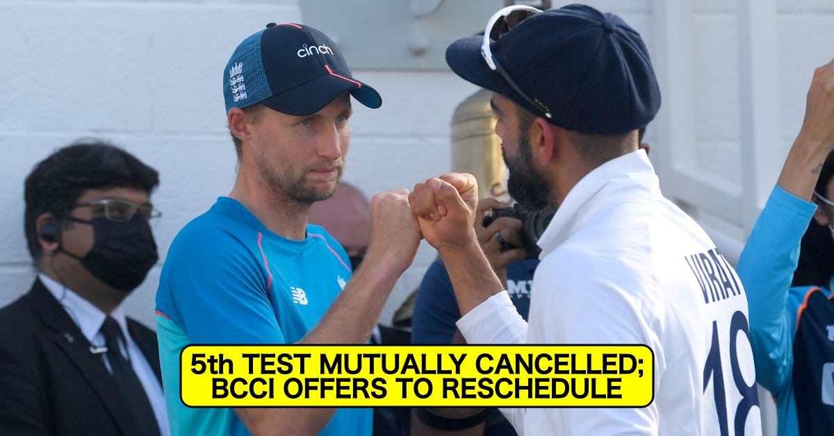 England vs India 2021: 5th Test Called-Off Jointly By BCCI & ECB, BCCI Offers To Reschedule The Cancelled Match