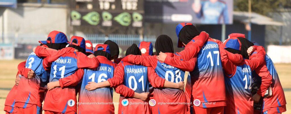 Afghanistan women's cricket team.