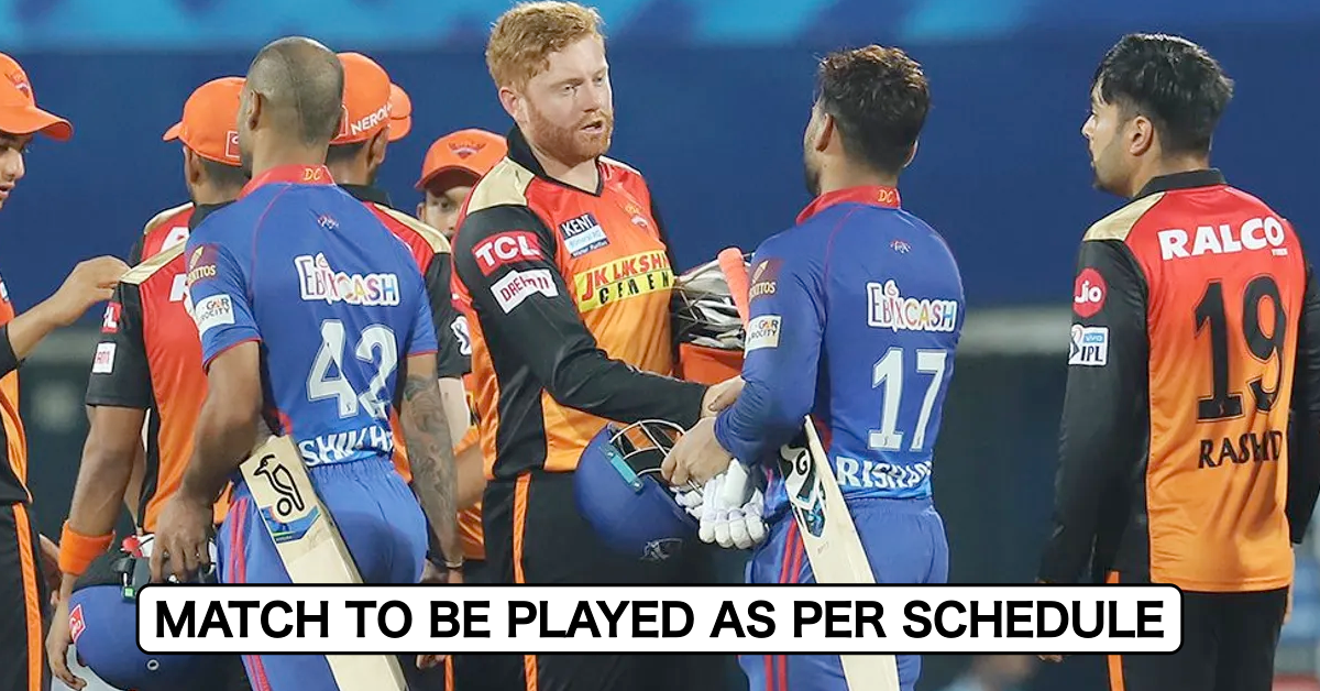 IPL 2021: Delhi Capitals vs SunRisers Hyderabad Match To Be Played As Scheduled After Other Members Of SRH Team Test Negative For Covid-19