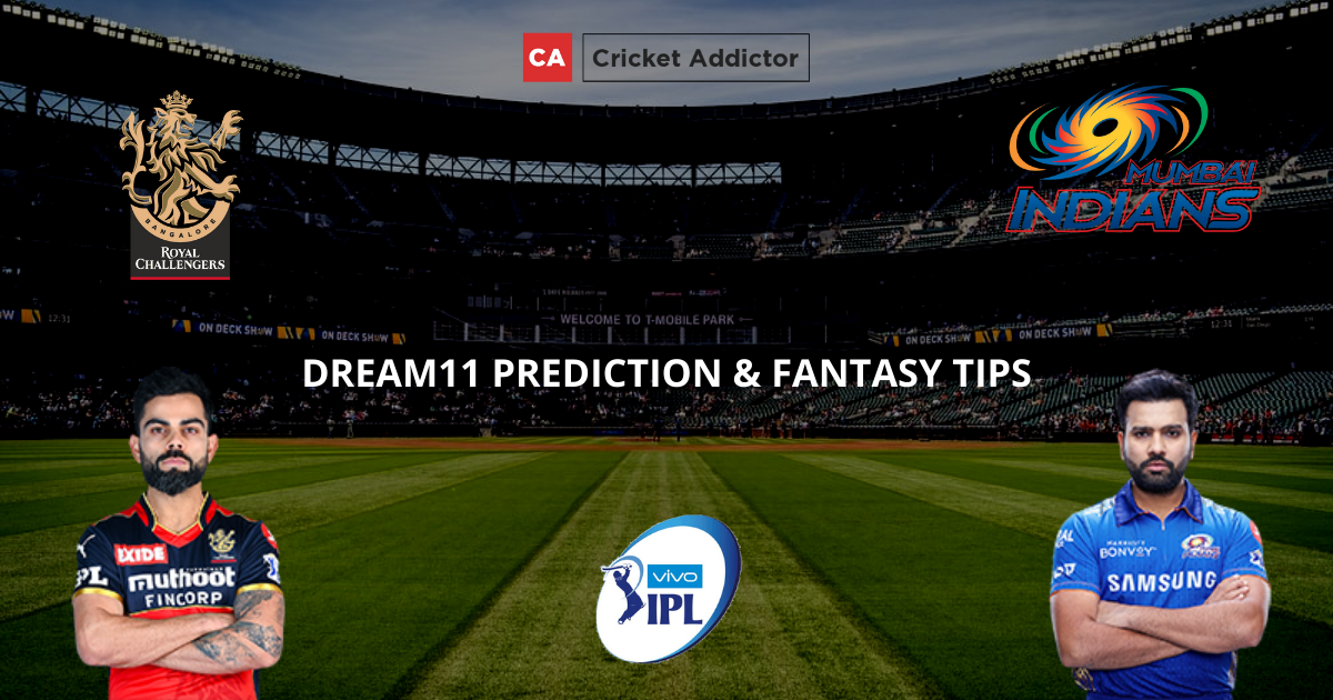 RCB vs MI Dream11 Prediction, Fantasy Cricket Tips, Dream11 Team- IPL 2021