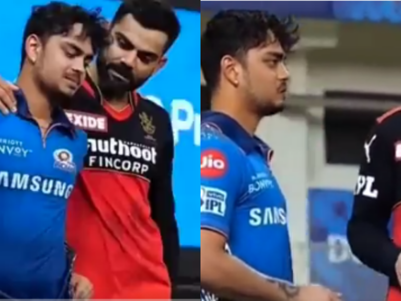 Virat Kohli and Ishan Kishan, IPL 2021