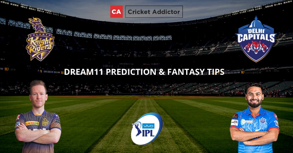 KKR vs DC Dream11 Prediction, Fantasy Cricket Tips, Dream11 Team- IPL 2021