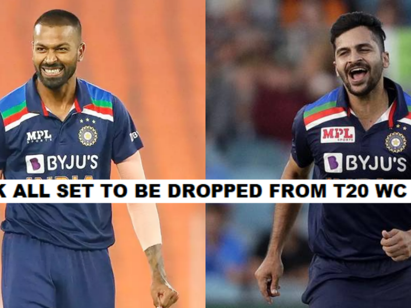 Hardik Pandya To Be Dropped From India's T20 World Cup Squad, Shardul Thakur To Replace Him