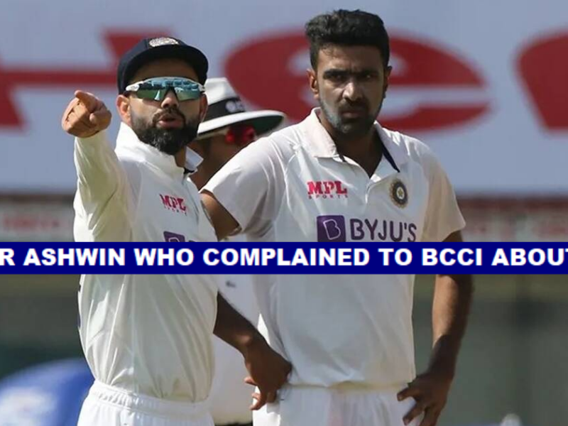 Ravichandran Ashwin Revolted Against Virat Kohli And Complained To The BCCI- Reports