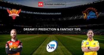 SRH vs CSK Dream11 Prediction, Fantasy Cricket Tips, Dream11 Team- IPL 2021
