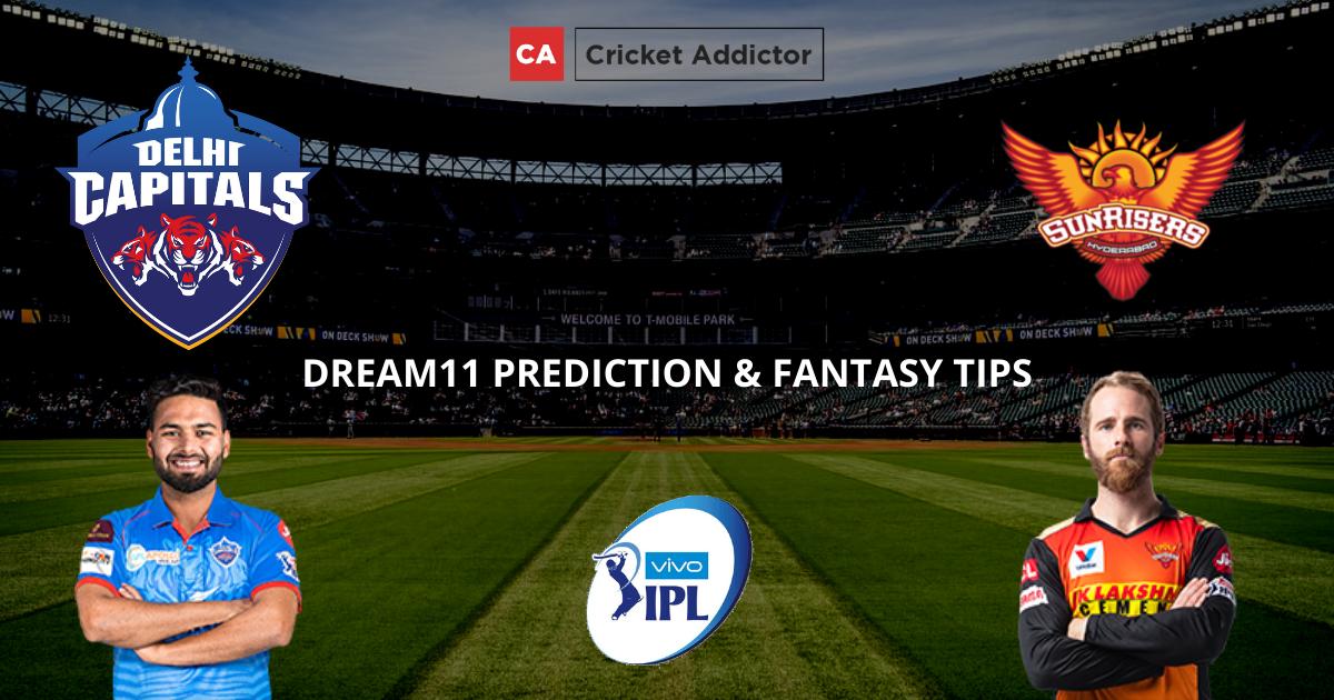 DC vs SRH Dream11 Prediction, Fantasy Cricket Tips, Dream11 Team- IPL 2021