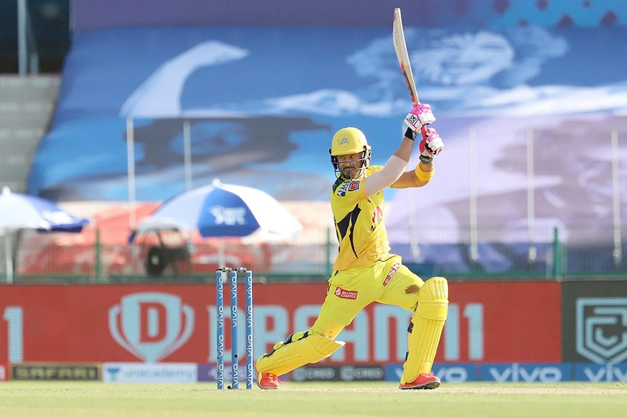 Faf du Plessis Bleeding Knee, IPL 2021