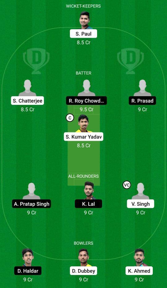 BB vs KH Dream11 Prediction Fantasy Cricket Tips Dream11 Team BYJU's Bengal T20 Challenge