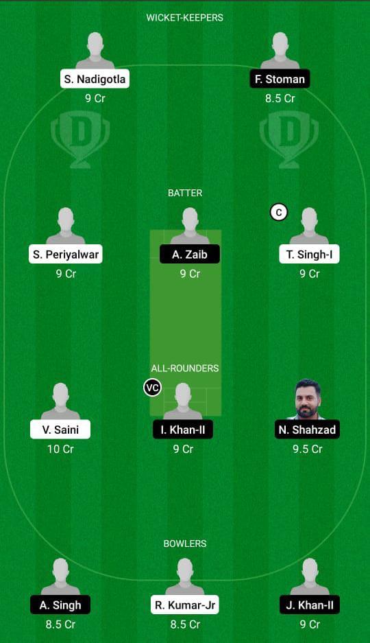 ROM vs POR Dream11 Prediction Fantasy Cricket Tips Dream11 Team Dream11 ECC T10