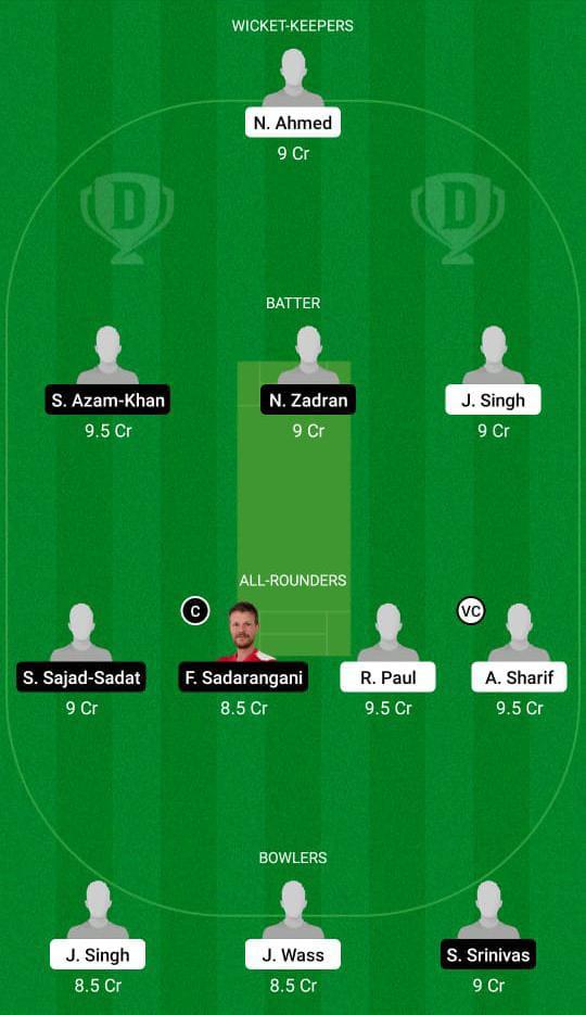 ITA vs GER Dream11 Prediction Fantasy Cricket Tips Dream11 Team Dream11 ECC T10
