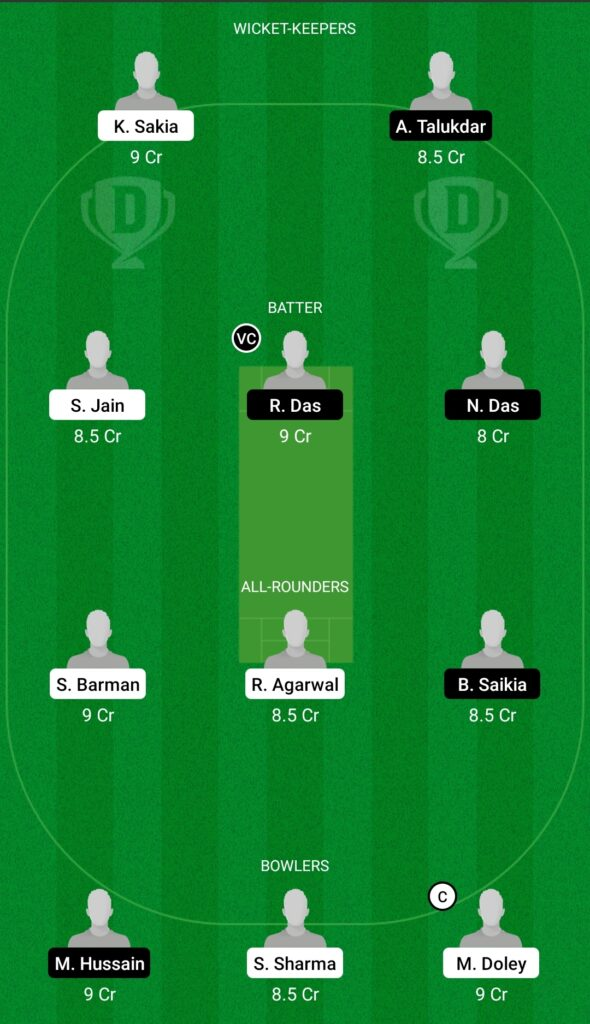 SBC vs BRB Dream11 Prediction Fantasy Cricket Tips Dream11 Team BYJU's Assam T20