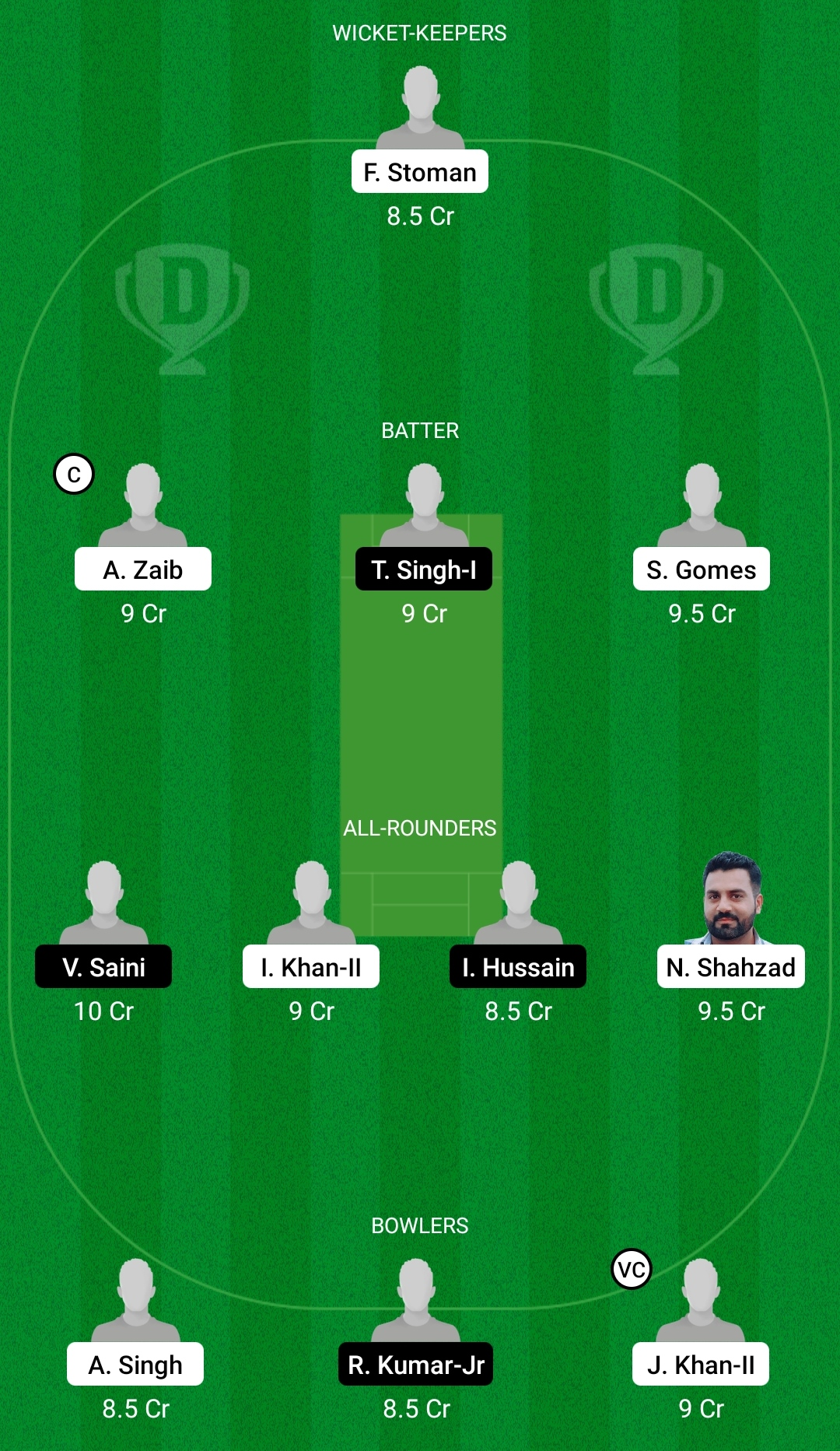 POR vs ROM Dream11 Prediction Fantasy Cricket Tips Dream11 Team Dream11 ECC T10