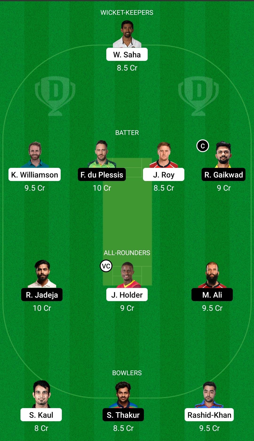 SRH vs CSK Dream11 Prediction Fantasy Cricket Tips Dream11 Team Vivo IPL 2021