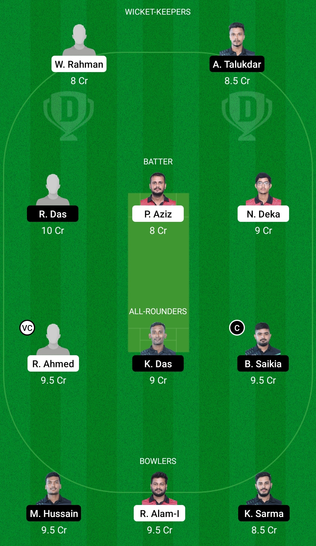 BHB vs BRB Dream11 Prediction Fantasy Cricket Tips Dream11 Team BYJU's Assam T20