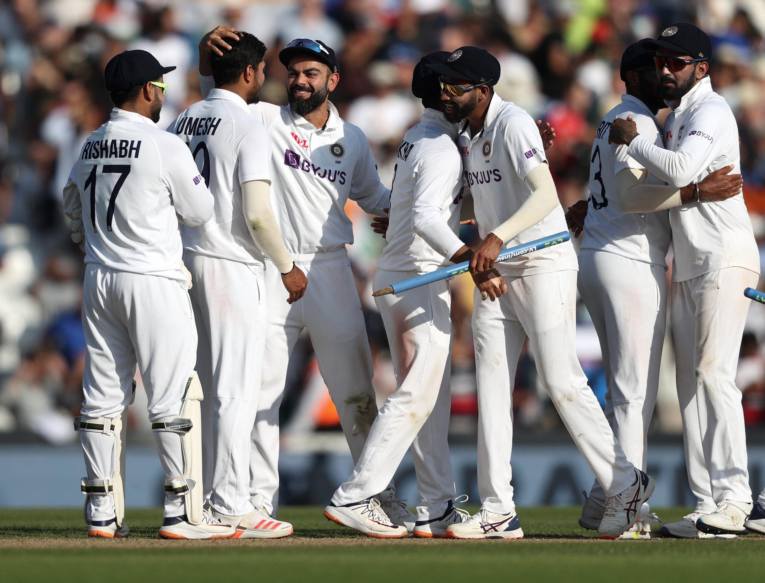 Indian cricket team.