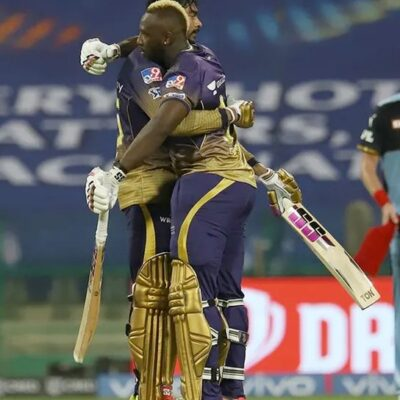 Venkatesh Iyer and Andre Russell