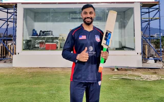Jaskaran Malhotra. Photo- USA Cricket Twitter