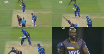 IPL 2021: Watch - Andre Russell's Yorker Nutmegs Kieron Pollard Leaving The Commentators In Laughter