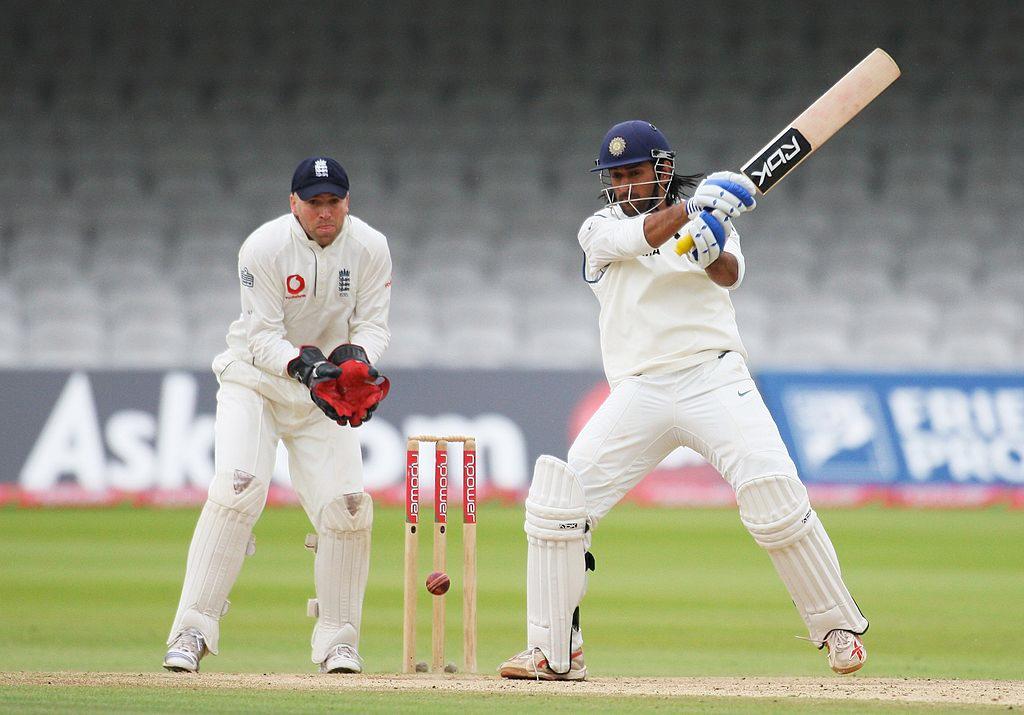 MS Dhoni Test vs England 2007