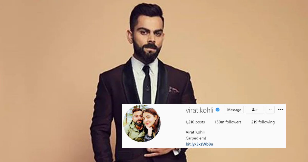 Virat Kohli Instagram Followers