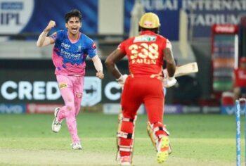 RR defeat PBKS in IPL 2021