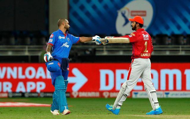 Shikhar Dhwan and KL Rahul