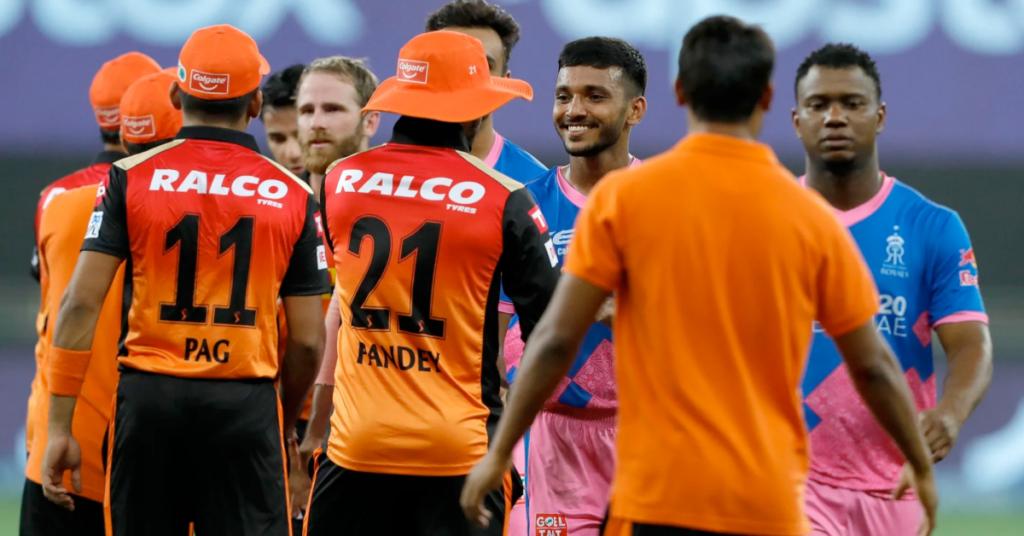 Sunrisers Hyderabad vs Rajasthan Royals, IPL 2021 UAE