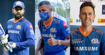 Trent Boult, Hardik Pandya, Rohit Sharma, Mumbai Indians