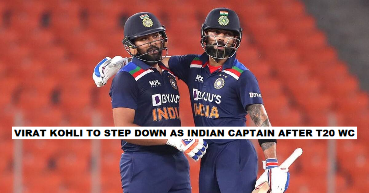 Virat Kohli To Quit Indian Limited-Overs Captaincy After T20 World Cup, Rohit Sharma To Lead The Side