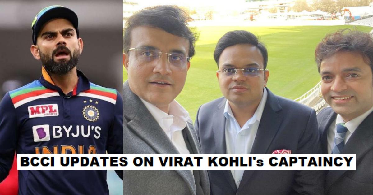 BCCI Tresurer Arun Dhumal Provdes Fresh Update On Virat Kohli's Captaincy