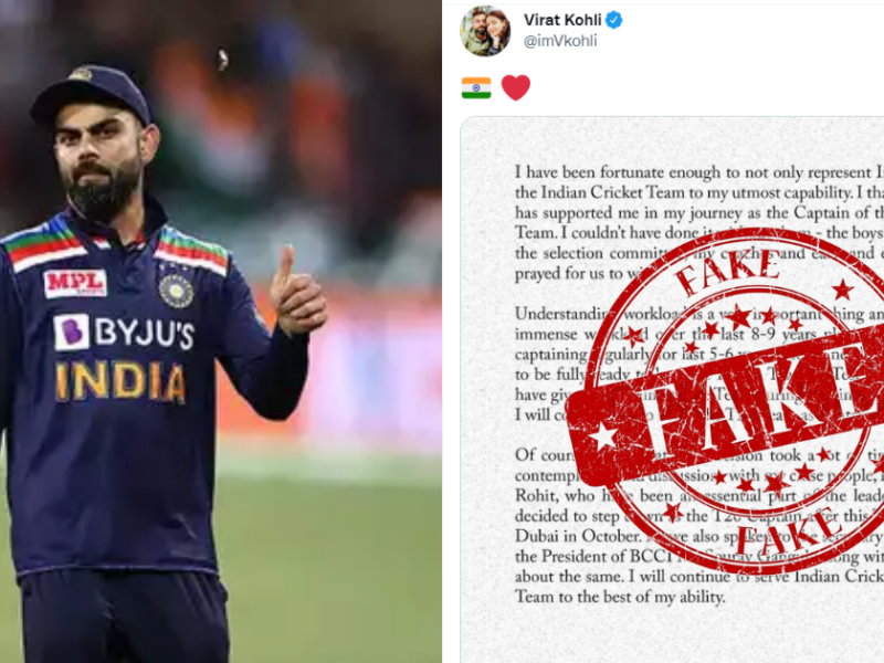 Virat Kohli Is Lying!! Here's Why It's More Than 'Workload Management' That Led To Virat's Resignation