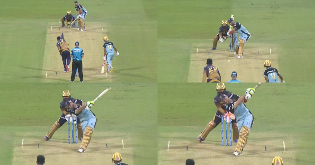 IPL 2021: Watch - Glenn Maxwell Knocked Over By Varun Chakravarthy As RCB Sink Further