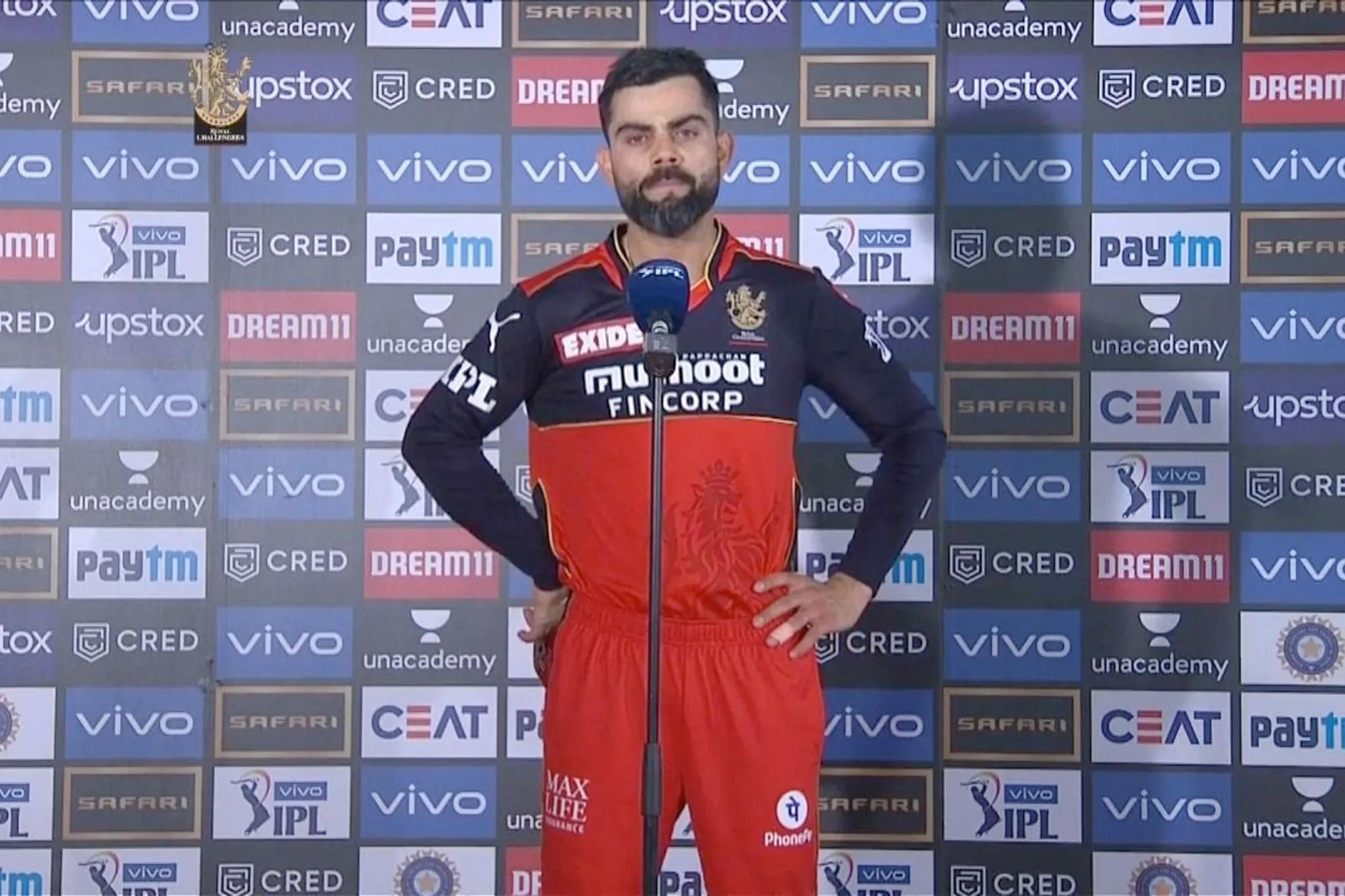 Virat Kohli, IPL 2021