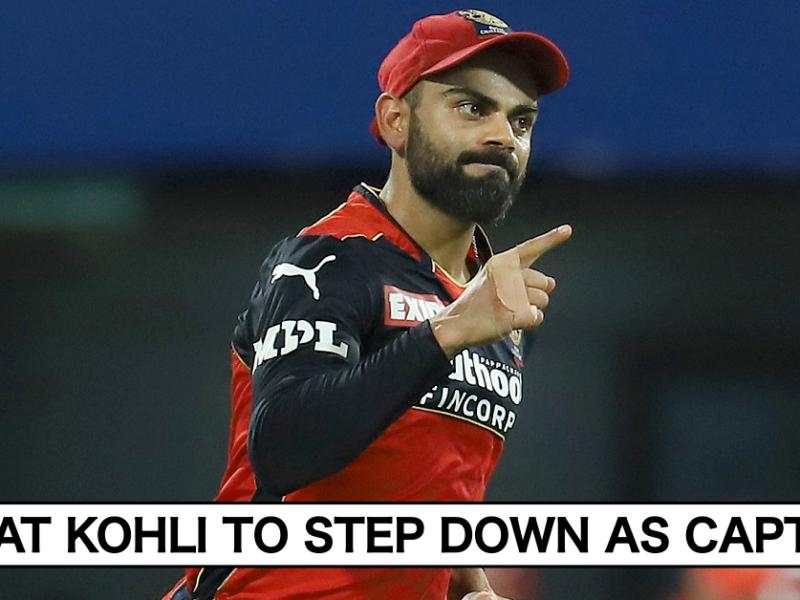 Virat Kohli To Step Down As RCB Captain