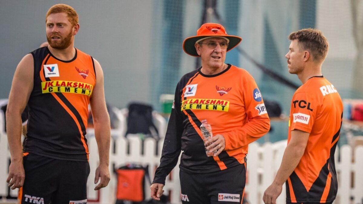 Sunrisers Hyderabad (SRH), Warner and Bayliss