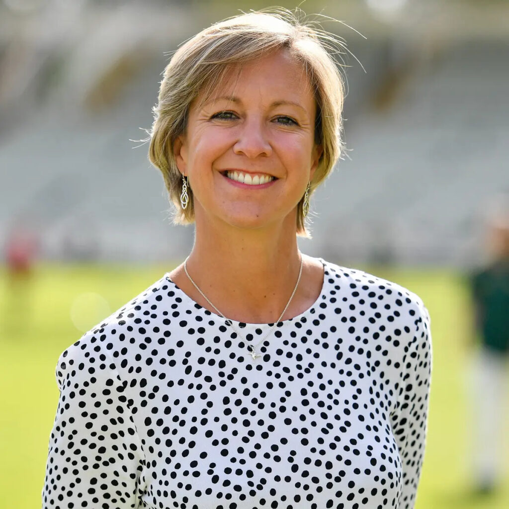 Managing director of England Women's cricket, Clare Connor. Photo- Getty