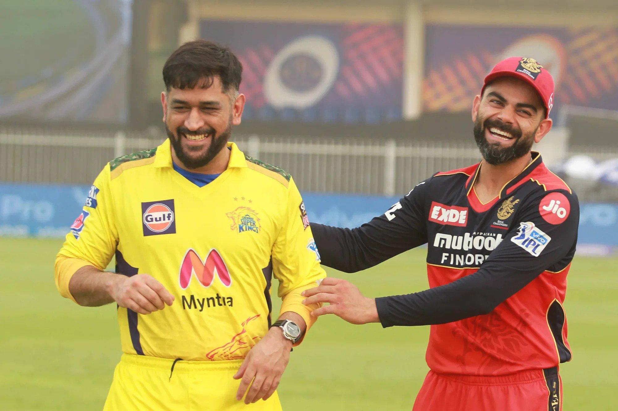 Virat Kohli, MS Dhoni, IPL 2021