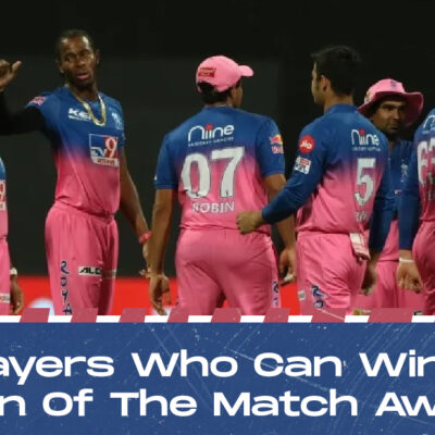 IPL 2021: PBKS vs RR- 3 RR Players Who Can Win The Man Of The Match Award