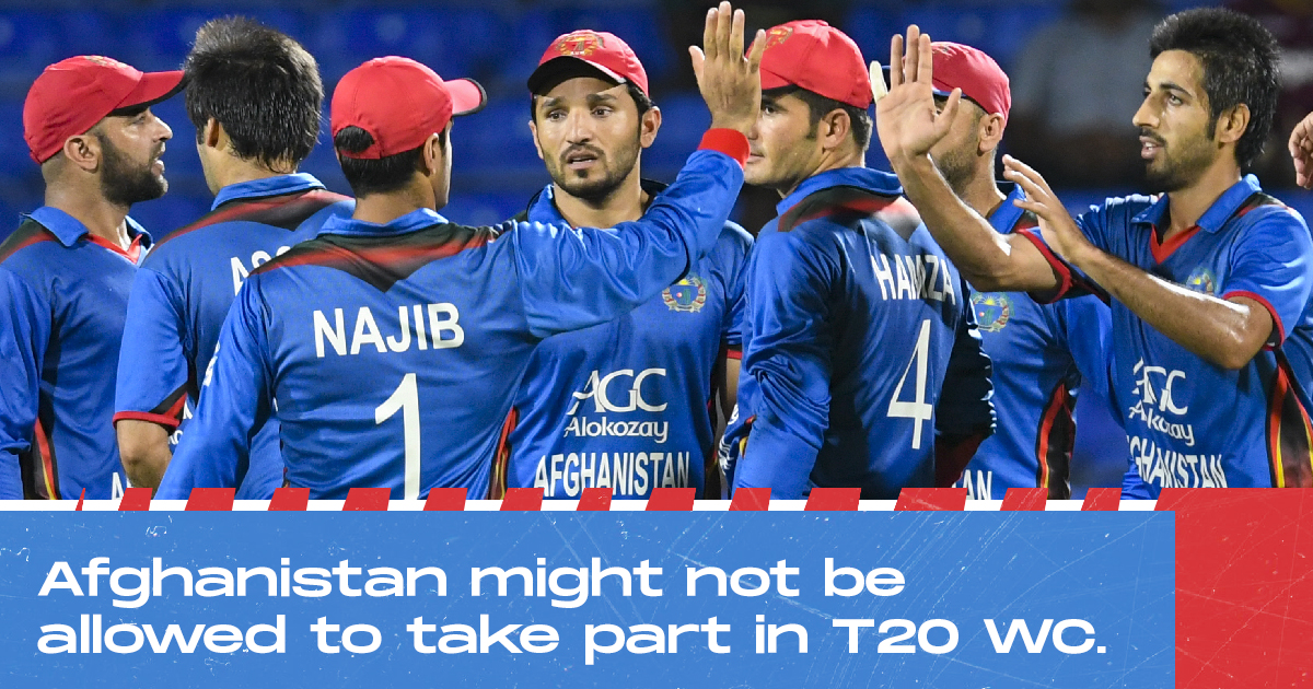 Afghanistan's T20 World Cup Participation Could Be In Danger If They Play Under Taliban's Flag-Reports