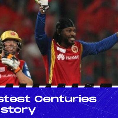 IPL 2021: Five Fastest Centuries In IPL History