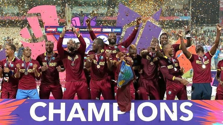 टी20 विश्व कप, वेस्टइंडीज