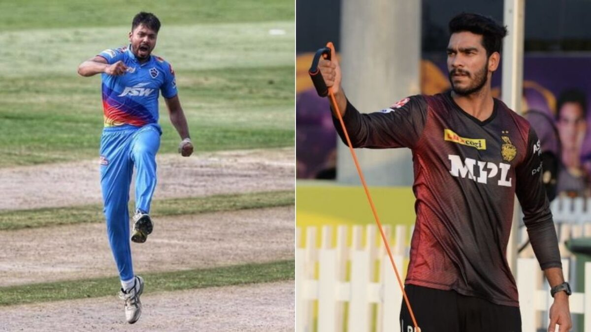 Venkatesh Iyer, Avesh Khan To Stay Back In UAE To Join As India's Net Bowlers For T20 World Cup 2021. Photo- BCCI-IPL