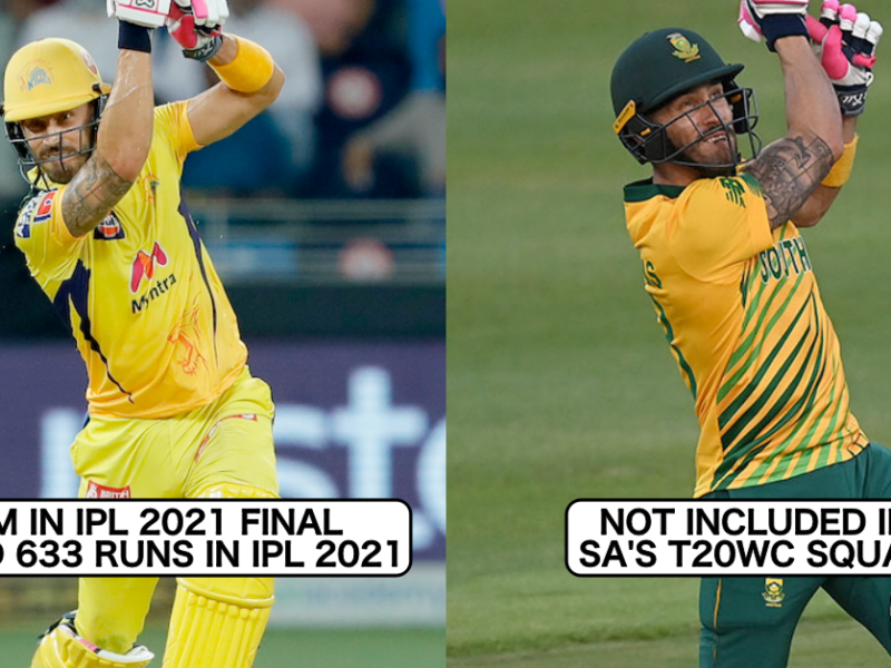 5 Players Who Performed Extremely Well In IPL 2021 But Won't Be A Part Of T20 World Cup 2021