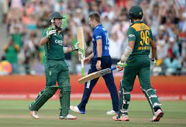 AB de Villiers and David Wiese