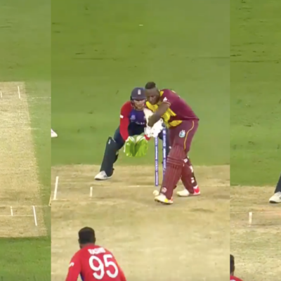 T20 World Cup 2021: Watch - Adil Rashid Cleans Up Andre Russell For A Duck With A Slider