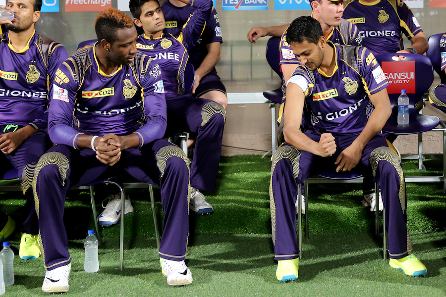 Andre Russell and Shakib Al Hasan