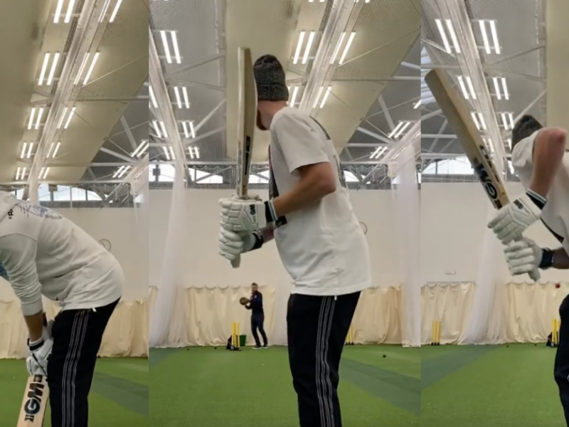 Watch - Ben Stokes Starts 'Casual' Batting Practice After Second Finger Operation